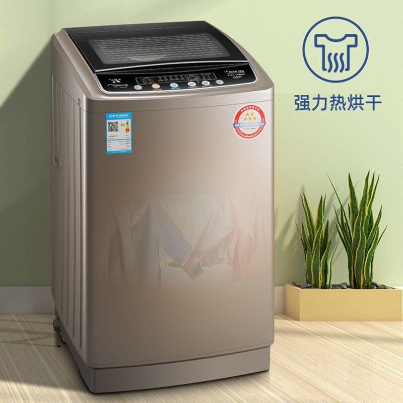 Полностью автоматическая стиральная машина с горячим воздухом, 220 В, 9 кг 1