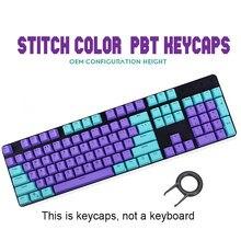 104-chave pbt backlight keycap ponto cor ansi layout oem perfil tampões chaves para teclado de jogo mecânico mx cereja