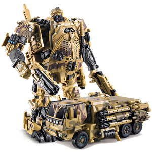 Image 5 - WJ Hound M02 TF Transformation Hound Camouflage ควันนักสืบรถบรรทุก INSPECTOR Action FIGURE OVERSIZE หุ่นยนต์ของเล่น