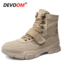 New Men Hiking Shoes Military Desert Tactical Boots Army Shoes Breathable Camping Sport Hunting Climbing Work Shoes Ankle Boots Hiking Shoes    -