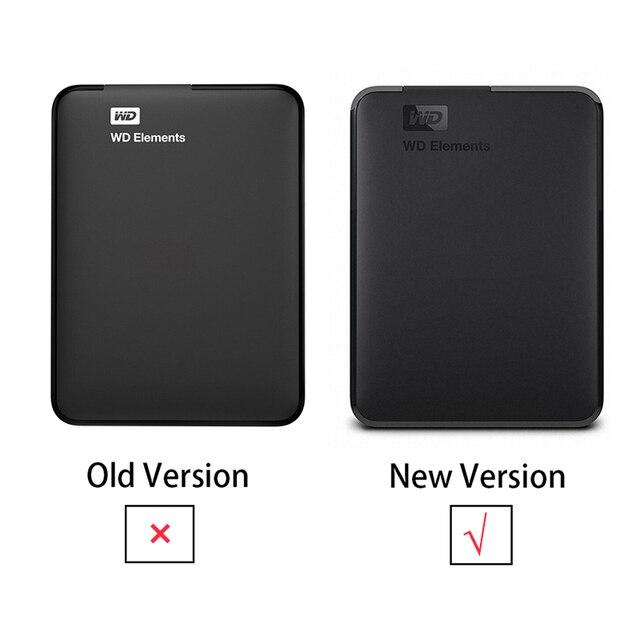 "Western Digital Original WD Elements 5TB External Hard Drive 2.5"" USB 3.0 Portable External Hard Disk HDD 6"
