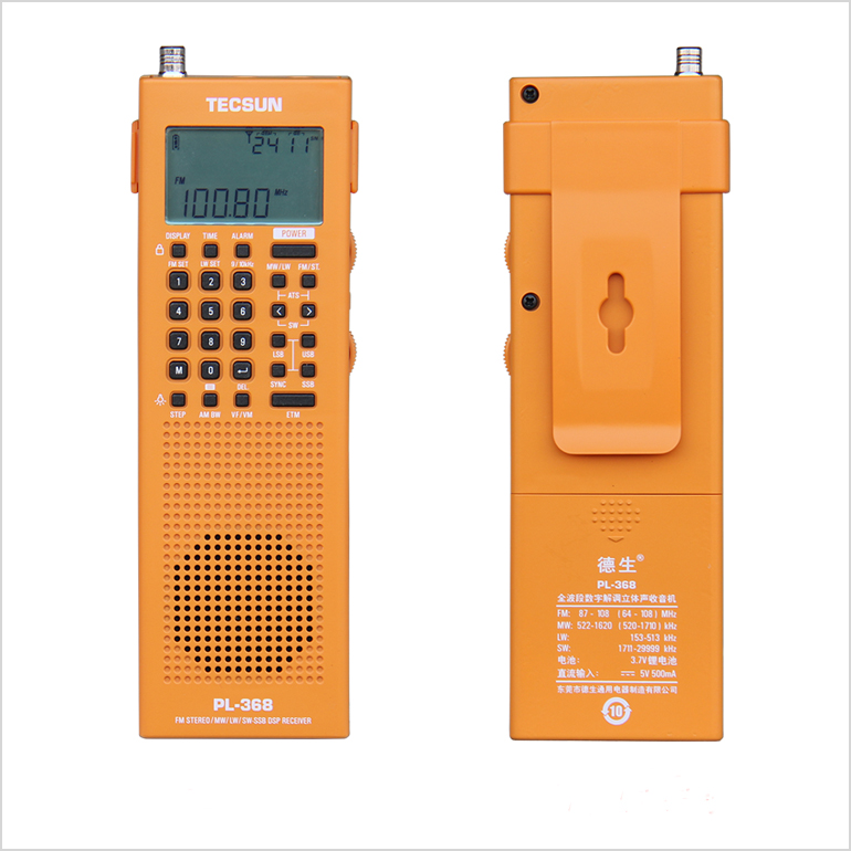 радиоприемник tecsun pl-368, fm/dsp/etm/ats/ssb