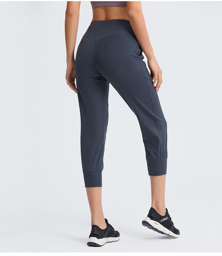 Women's Workout Running Capris Joggers