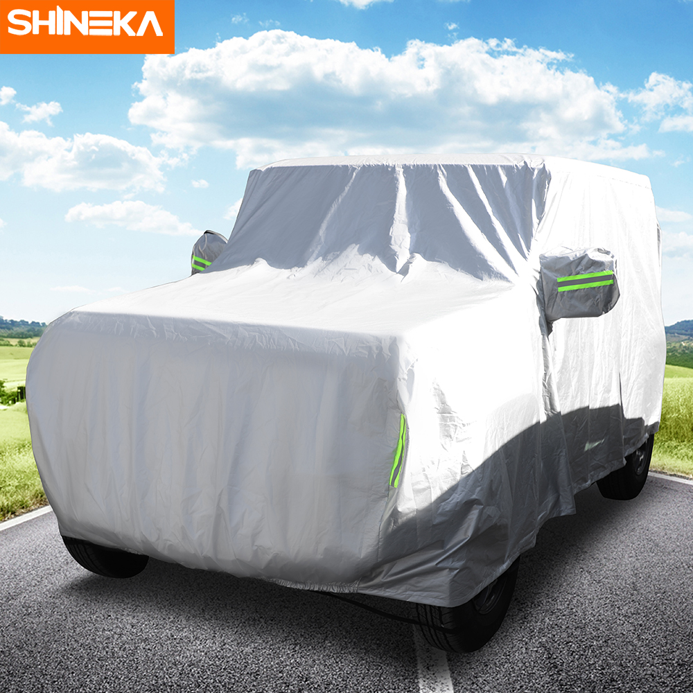 Exterior Accessories For Suzuki Jimny 2019+ Car Cover Outdoor Rainproof Dustproof Sun UV Protection Cover For Suzuki Jimny