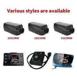 12V 5Kw/3Kw/8Kw Parking diesel podgrzewacz powietrza podgrzewacz samochodowy z Lcd dynamiczny termostat samochód pojedynczy otwór podgrzewacz sprzedaż w Grzejniki elektryczne od AGD na