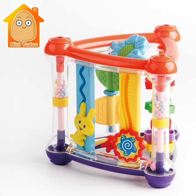 Toys For Baby 0 12 Months Activity Play Cube Infant Development Educational Hanging Toys Newborn Rattle Toy New Born Boy Girl