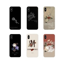 Penyanyi Pop Shawn Mendes Magcon 98 Bunga Lembut TPU Cover UNTUK Samsung A10 A30 A40 A50 A60 A70 M30 Galaxy catatan 2 3 4 5 8 9 10 Plus(China)