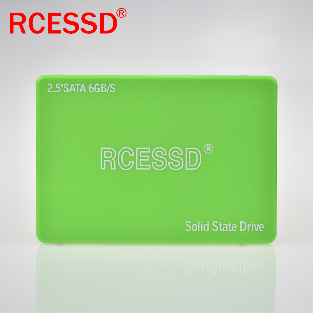 RCESSD Plastic 128GB 512GB Internal Solid State Disk HDD Hard Drive SATA3 2.5 Inch Laptop Desktop PC TLC Disco Duro 256 GB