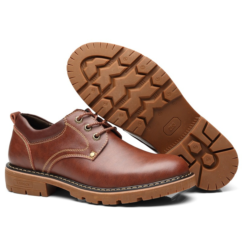 100 Genuine Leather Shoes Men Footwear Cow Leather Mens Casual Shoes Soft Comfortable Male Shoes Thick