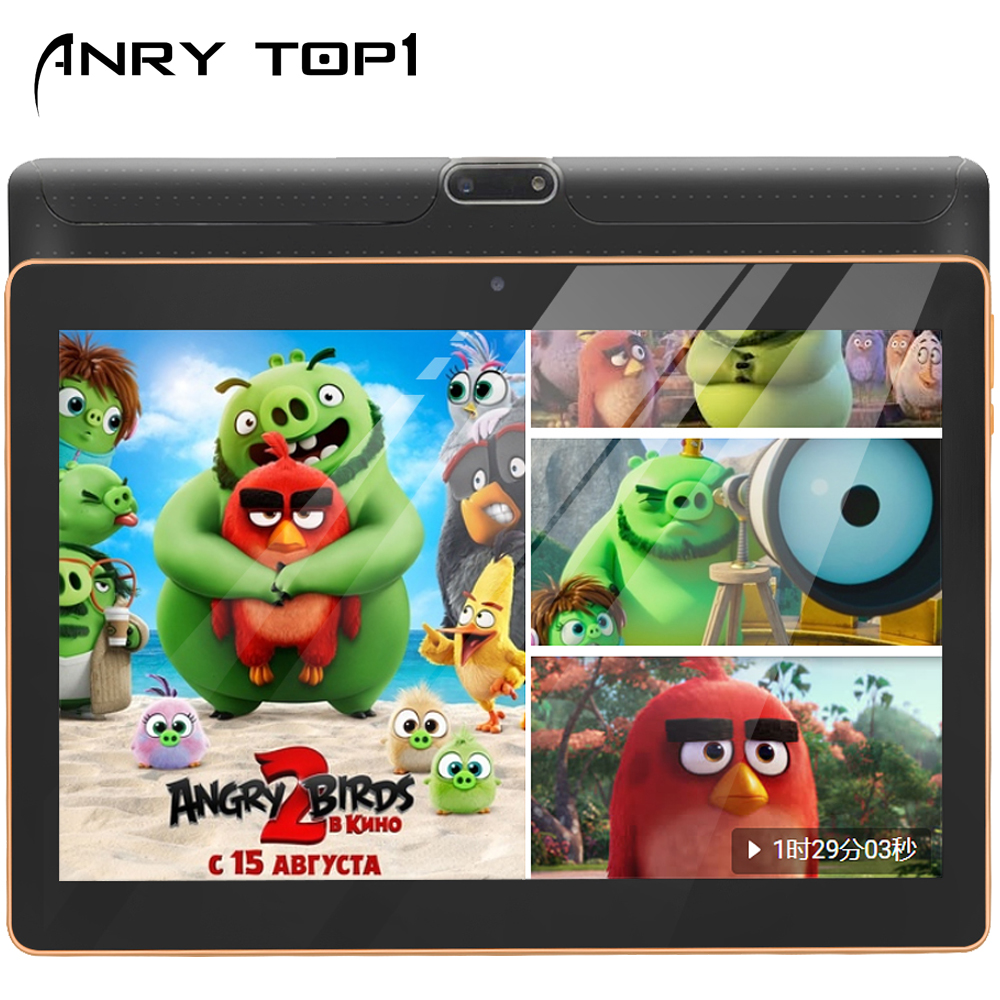 Android Tablet 10.1 Inch Touchscreen Wifi Tablet 4GB RAM 64G Storage Bluetooth GPS IPS Screen Unlockd Tablet PC Dual Sim Card