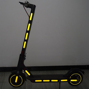 Electric Scooter Reflective Sticker Strip For ninebot max G30 Xiaomi M365/pro kick scooter Reflective Light Styling Stickers(China)