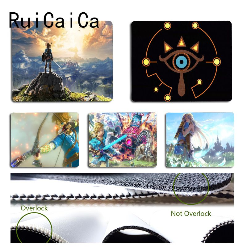 RuiCaiCa MaiYaCa  The Legend Of Zelda Breath Of The Wild Keyboard Gaming MousePads Size For 18x22cm 25x29cm Small Mousepad