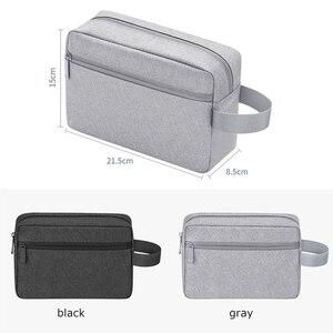 Image 3 - BUBM 旅行アクセサリーオーガナイザー防水電子デジタル USB イヤホン充電器データケーブルオーガナイザー収納データバッグ