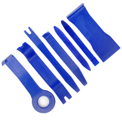 7pcs Hard Plastic Auto Car Radio Panel Interior Door Clip Panel Trim Dashboard Removal Opening Tool Set DIY Car Repair Tool Kit