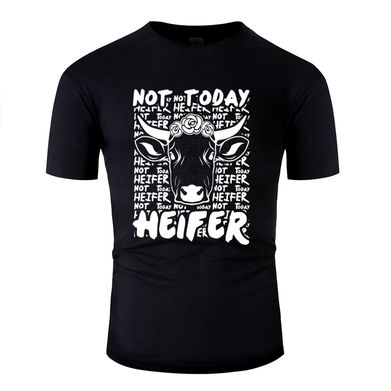Funny Casual Not Today Heifer Milk <font><b>Cow</b></font> design Vintage <font><b>Cow</b></font> <font><b>t</b></font> <font><b>shirt</b></font> men and women Trend men's <font><b>t</b></font> <font><b>shirts</b></font> cotton Harajuku image
