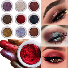 Handaiyan Glitter Eyeshadow Nude Pigments Cream Women Party Smoky Eyes Powder Shimmer Metal Eye Shadow Kits Makeup New