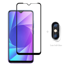 Full Cover Tempered Glass + Camera Protector For Realme 6 6S 6i 5I 5S X50 X3 X2 Pro XT Q