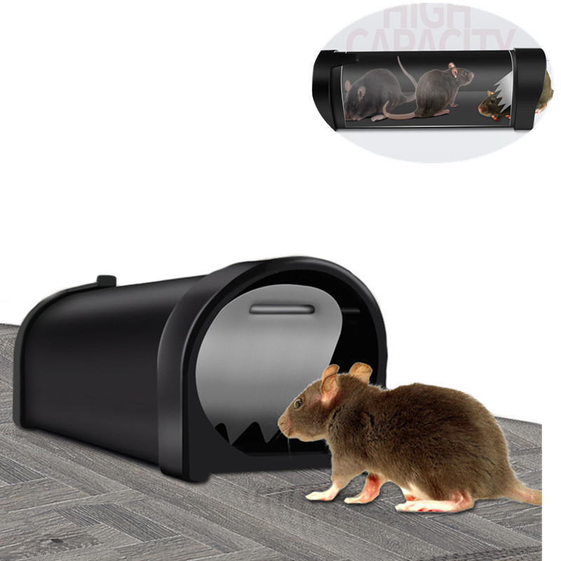 Armadilha de rato humanizada captura e liberação mouse armadilha/roedor animal de estimação seguro (cão/gato) melhor interior/ao ar livre gaiola de rato
