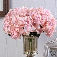 Ramo de peonías artificiales de seda rosa, 35cm, 5 cabezas grandes, para novia, boda, decoración del hogar, flores falsas de imitación