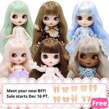 Ледяная фабрика Blyth кукла шарнир тело DIY игрушки BJD 30 см 1/6 модные куклы девочка подарок Специальное предложение на продажу
