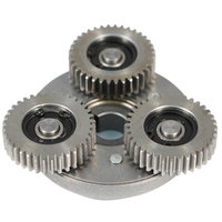 36 Tooth Steel Gear Electric Vehicle Brushless Motorcycle Gear Bearing One Way Clutch Assembly