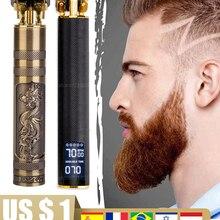 Hair-Clipper Barber Outliner-Trimmer-Kit Beard Electric-Hair-Cutting-Machine Shaving