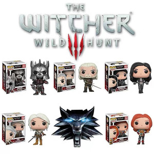 Funko The Witcher 3 Wild Hunt Geralt Ciri Eredin Yennefer Triss Vinyl Doll Action Figure PVC Model Collection Birthday Gift Toys