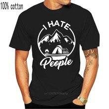 I Hate People camicia da uomo nuova divertente umorismo classico elegante montagne luna natura M Xl 2Xl 12Xl Tee Shirt