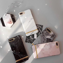 Tfshining Chic Marble Stone Phone Cases For iphone XR XS Max X 6 6s 7 8 Plus Soft Silicon IMD Back Cover Coque For iphone X Capa цена