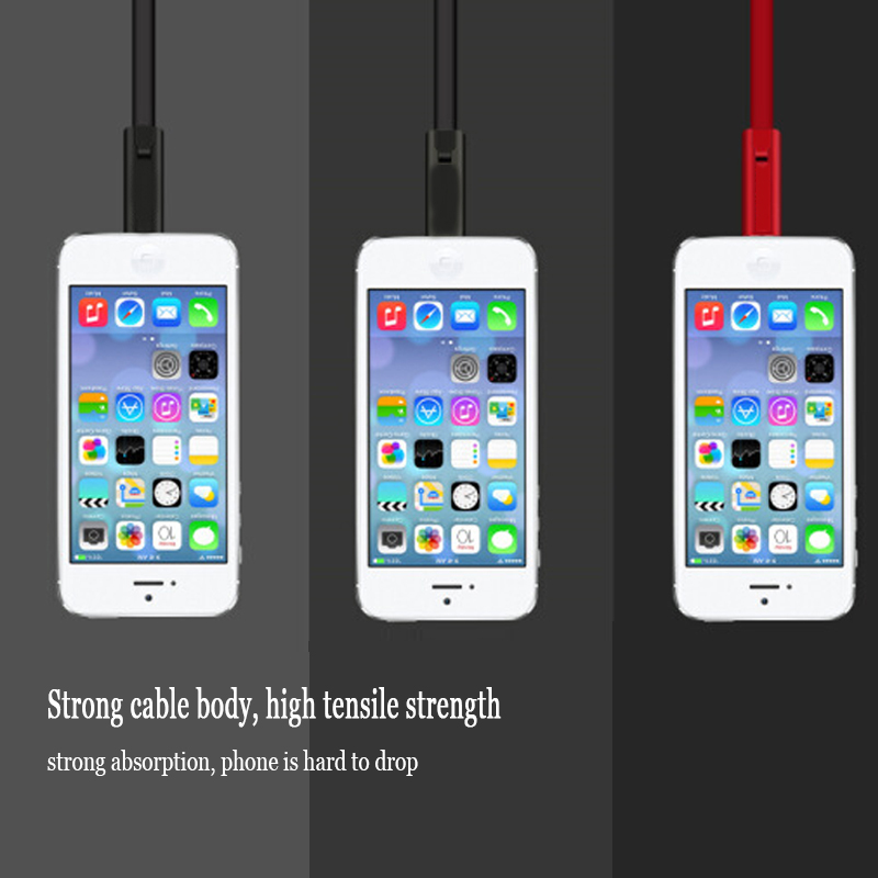 Adjustable USB Cable Renewable Phone Charging Cable for iPhone Cutting Quickly Repair Android Type C Mobile