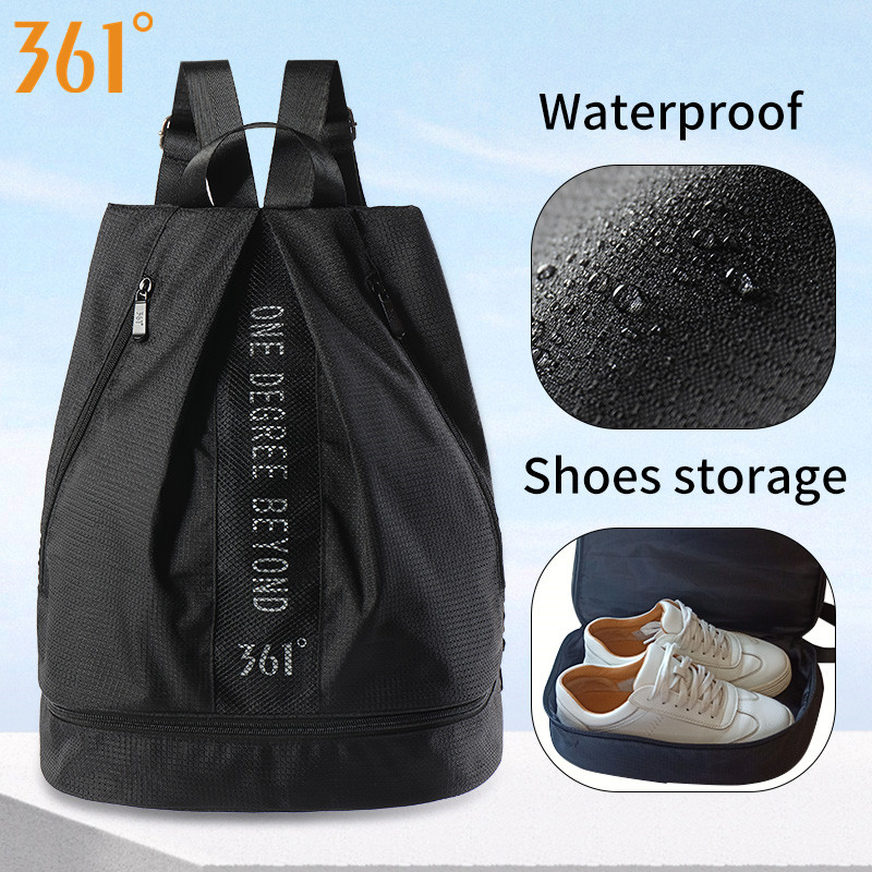 <font><b>361</b></font> Outdoor Waterproof Sports Bag with <font><b>Shoes</b></font> Storage Men Women Kids Swimming Backpack for Gym Dry Wet Beach Bag Fitness Pool image