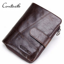 купить Brand Genuine Leather Wallet Men Short Wallets Luxury Card Holder Price Male Purse Coin Bag Zipper Multifunctional Money Purse дешево