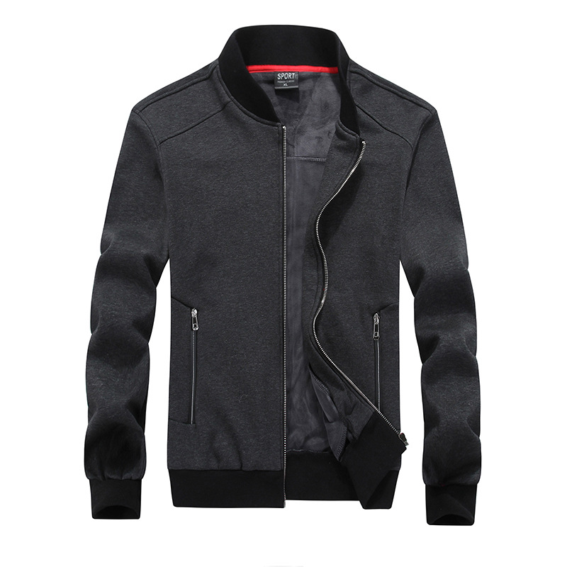 8XL Men Workout Jacket Winter Windproof Zip-up Sweatshirt Running Jogger Sport Jacket Coat Outers Sportswear Plus Size