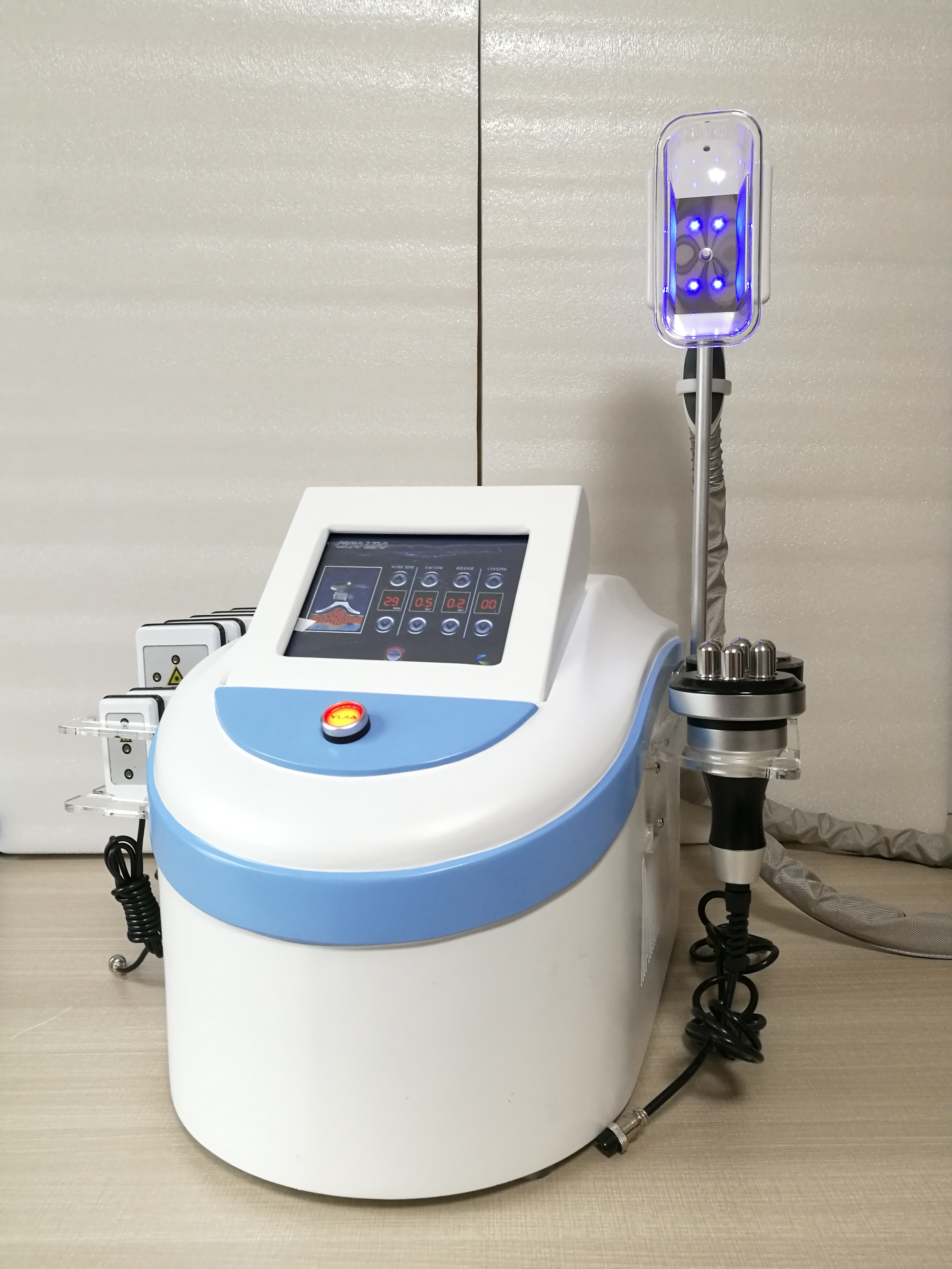 2019 New Fat Freezing Machine With Double Cool Sculpting   +  Laser + RF Weight Loss Machine For Spa