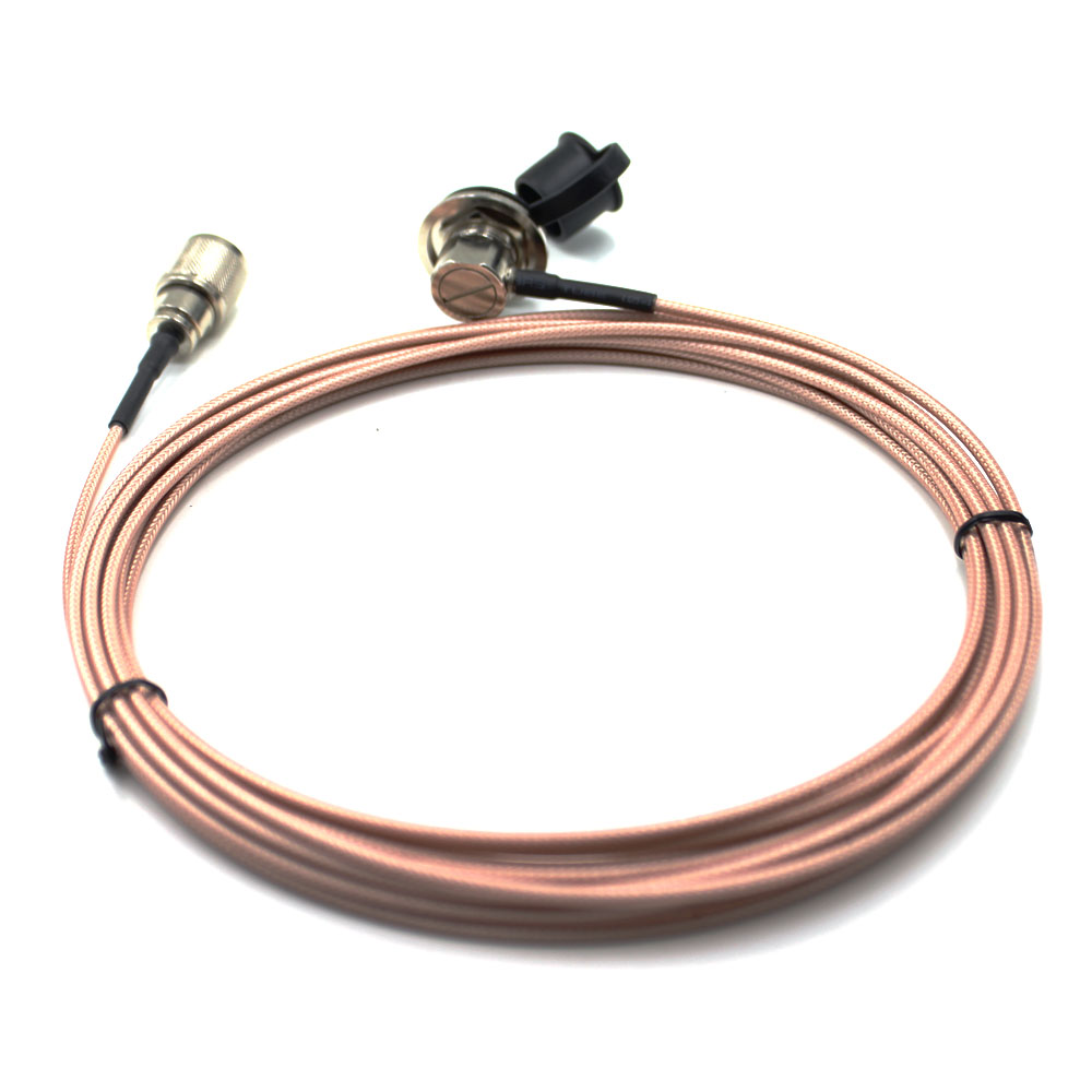 Pink 5 Meter 316 Coaxial Cable UHF/PL-259 Male To Female For QYT KT-8900D TYT TH-9800  Mobile Radio Walkie Talkie Antenna