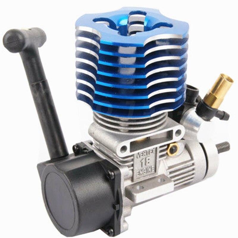 02060 VX 18CXP Vertex 18 moteur Nitro puissance 2.74cc avec tire démarreur bougie de préchauffage pour 1/10 1/8 RC modèle voiture Buggy HSP Himoto