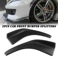 2PCS Universal Auto Front Lip Splitter Diffusor Kinn Spoiler Canard Deflektor-in Drosseln aus Kraftfahrzeuge und Motorräder bei
