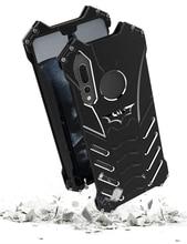 R-Just Case For Huawei P30 Pro P30 Nova 3e 4e Case BATMAN Armor Heavy Duty Metal Aluminum Case For Huawei P20 Lite P20 Pro Cover shockproof case for huawei p30 lite metal fundas for huawei p30 pro armor phone cover for huawei p30 rugged case p30 pro capa