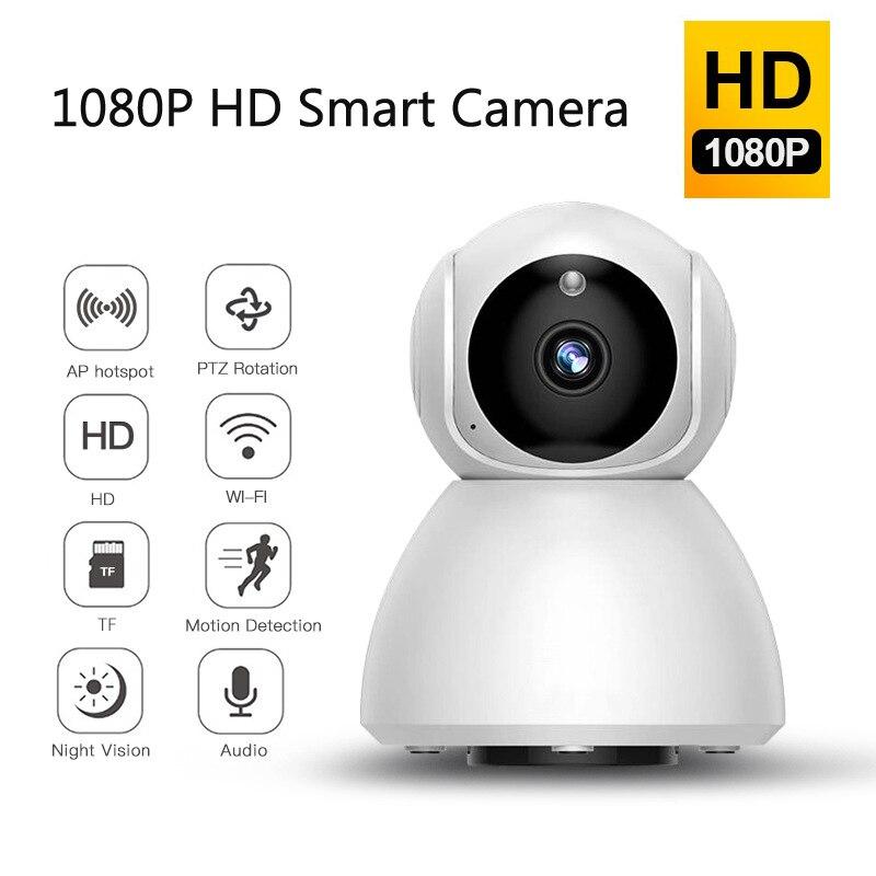 1080P WiFi Wireless IP Camera Home Security Ptz Auto Tracking Camera IR Night Vision CCTV  Surveillance Baby Monitor V380 App
