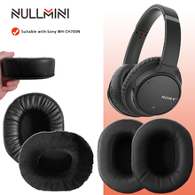 NullMini Replacement Earpads for Sony WH CH700N Headphones Memory Foam Thicken Leather Sleeve Earphone Earmuff
