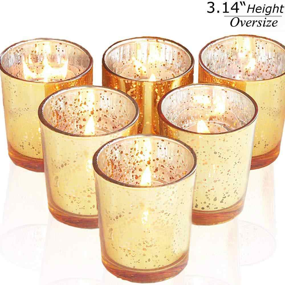 Golden Silver Glass Candle Jar Holders Making Cup European Originality Candlestick Bougie Anniversaire Morocco Candle Jars Candle Accessories Aliexpress