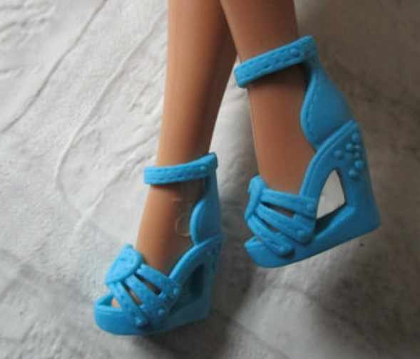 Nieuwe Stijlen Pop Schoenen Speelgoed Schoenen Accessoires Voor Uw Barbie 1:6 Poppen A128