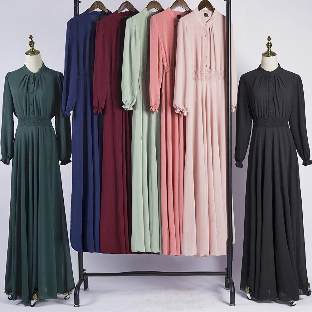 Kaftan Dubai Abaya Turkey Women Muslim Hijab Dress Islamic Clothing Caftan Marocain Ramadan Turkish Dresses Saudi Gamis Wanita