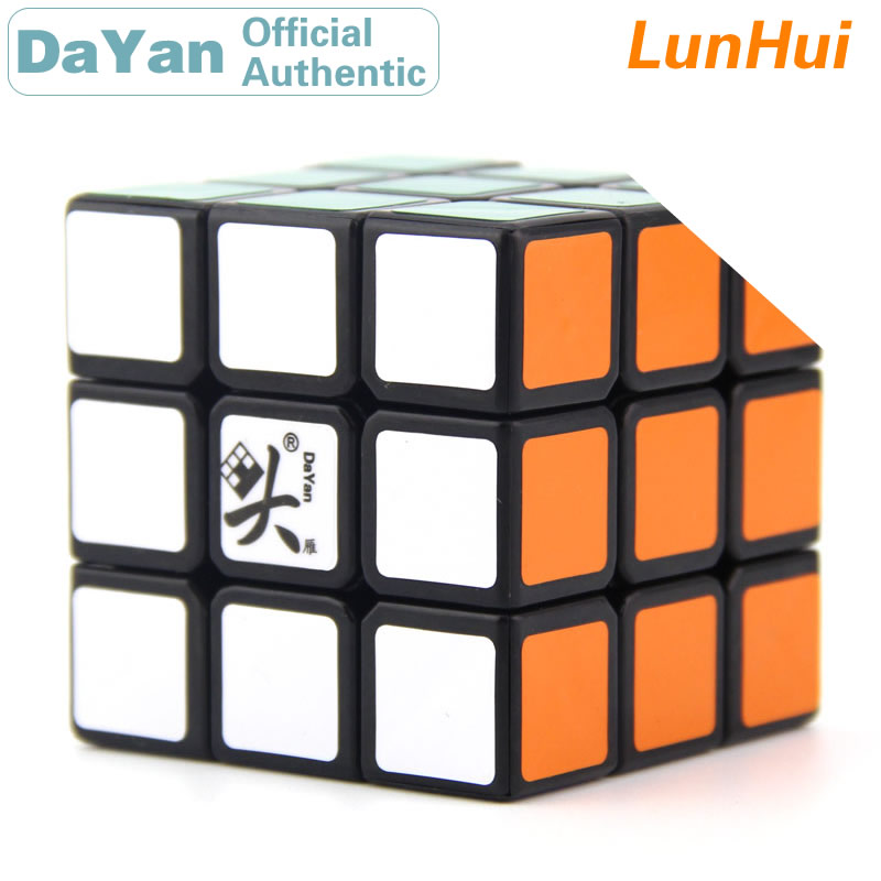 DaYan LunHui 3x3x3 Magic Cube 3x3 Brain Teasers Professional Speed Twist Puzzle Antistress Educational Toys For Children