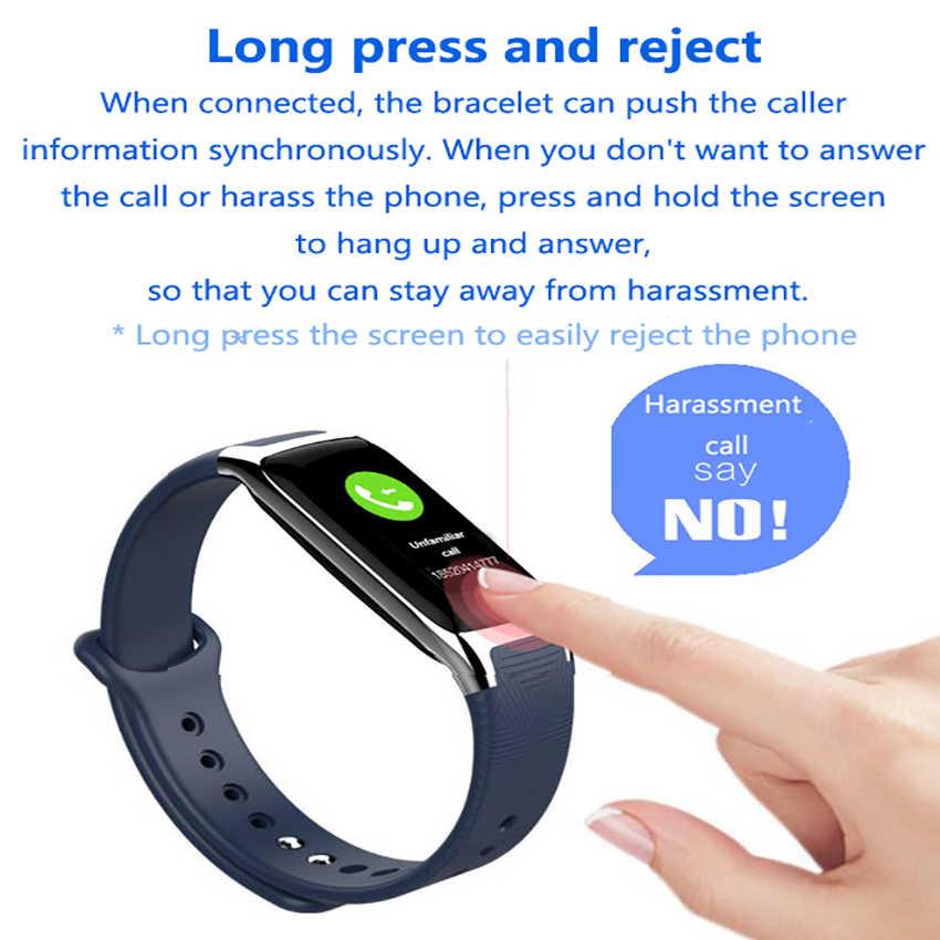 Reloj de banda inteligente de moda xiomi Monitor de ritmo cardíaco de presión arterial impermeable pulsera inteligente rastreador de Fitness fitbit pulsera