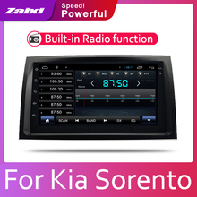 цена на ZaiXi Car Android System 1080P IPS LCD Screen For Kia Sorento R 2010~2012 Car Radio Player GPS Navigation BT WiFi AUX