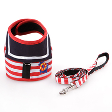 Dog Collars Harness Pet Leads Vest Harnesses Type Leash for Dogs Rope Pets Chain Chest Strap Small and Cat