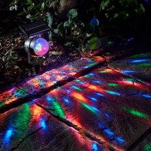 Открытый Солнечный Сказочный Небесный Звездный Рождественский лазерный проектор душ садовый газон зеленый красный Точечный светильник вечерние декоративный сценический светильник