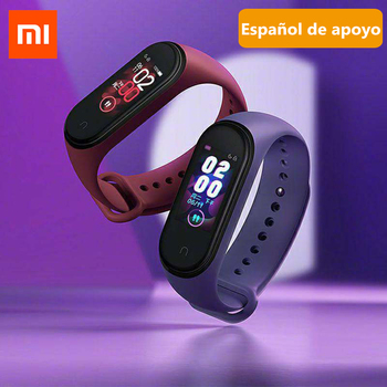 2019 Xiaomi Mi Band 4 Mi Smart Bracelet 4 Sport Band AMOLED Big Screen Bluetooth5.0 Heart Rate Monitor 50M Waterproof