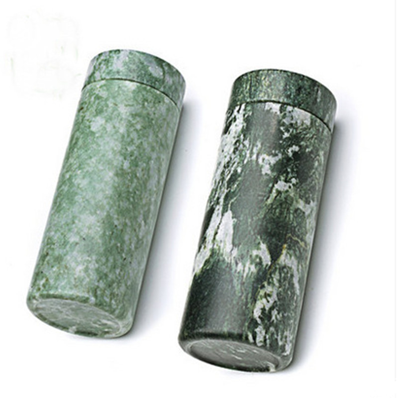 Manufacturers Direct Selling Natural Lushan Green Glass Healthy Jade Lbh Shan Yu Jade Tea Cup Wholesale